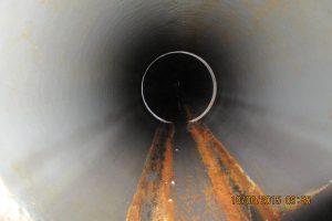 Примеры работ по телеинспекции трубопровода