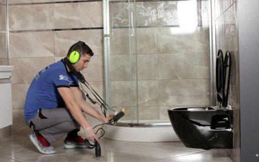 Поиск утечки воды в квартирах и домах в Полтаве